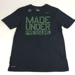 New Nike Mens Black Logo Shirt